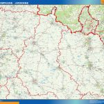 mappa champagne ardenne
