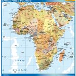 mappa africa spagnolo